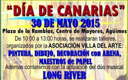 ACTOS  DÍA DE CANARIAS EN EL MUNICIPIO AGÜIMES