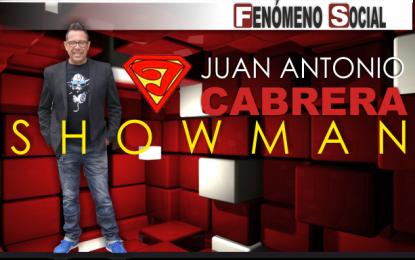 Juan Antonio Cabrera nos presenta su nuevo espectáculo, por humor al prójimo
