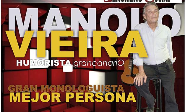 Entrevista con Manolo Vieira en el Templo del Humor