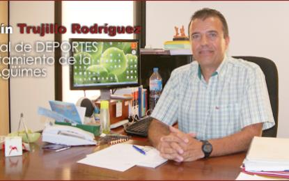 Entrevista con D. Agustín Trujillo Rodríguez, Concejal de Deportes de la Villa de Agüimes