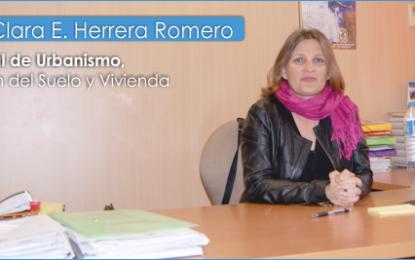 Entrevista con la concejala de Urbanismo de la Villa de Agüimes, Dña. Clara E.Herrera Romero