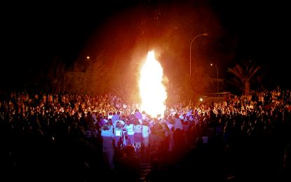 La Oficina de Seguridad establece consejos y advierte del peligro de las hogueras de San Juan