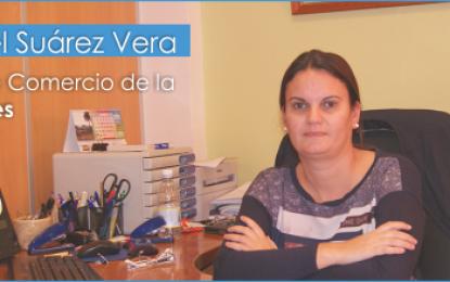 Entrevista con la concejala de Comercio de Ayto. de Agüimes, Isabel Suárez Vera.