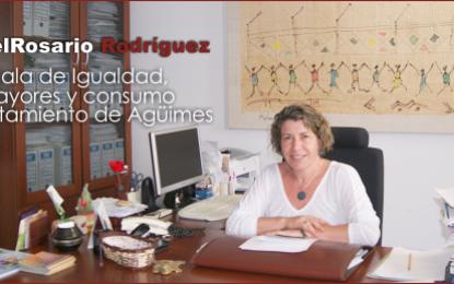 Entrevista con María Del Rosario Rodríguez Galván, Concejala de Igualdad, Salud, Mayores y consumo de Agüimes