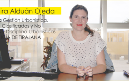 Entrevist la Concejala de Gestión urbanística de Santa Lucía de Tirajana, Nira Alduán Ojeda