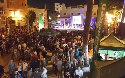 Las plazas de San Rafael y Algodoneros amplían la red eléctrica para atender la demanda de eventos