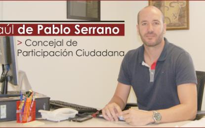 Entrevista con D. Raúl de Pablo Serrano, Concejal de Participación Ciudadana de Santa Lucía.
