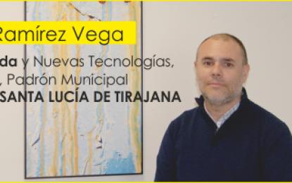 Entrevista con el concejal de Hacienda de Santa Lucía de Tirajana, D. Roberto Ramírez Vega