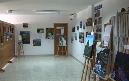 """Inaugurada la exposición """"Como la Vida Misma"""" de Javiela Romero y su alumnado de pintura"""