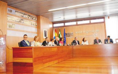 El nuevo grupo de gobierno del Ayuntamiento de Ingenio se presenta ante los trabajadores municipales e informa de las áreas que dirigirá cada edil