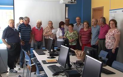 Clausurado el taller de informática del Centro de Mayores de Ingenio con la entrega de diplomas