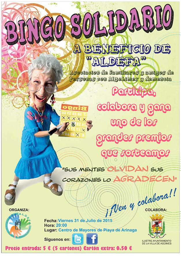 BINGO SOLIDARIO - ALDEFA 2015