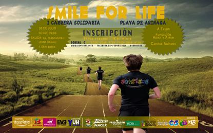 Playa de Arinaga acoge la I Carrera Benéfica Smile For Life