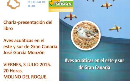 """Presentación en Telde del libro """"Aves acuáticas en el este y sur de Gran Canaria"""""""