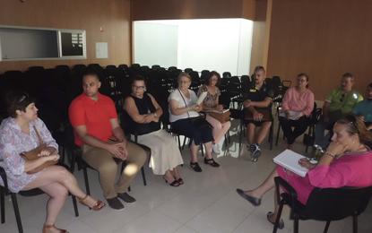 Primera toma de contacto con las asociaciones que desarrollan proyectos solidarios en la Villa de Ingenio
