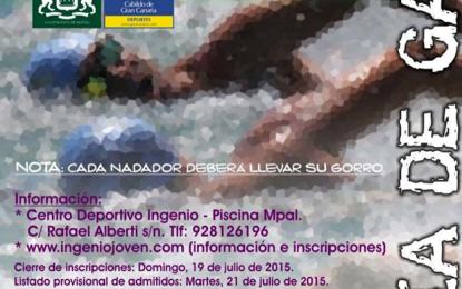 Este domingo se cierra el plazo de inscripción para la Travesía a Nado Bahía de Gando