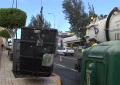 Desde hoy se procederá a la limpieza habitual de los contenedores soterrados durante diferentes periodos al año