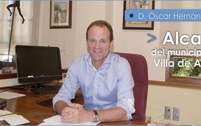 ENTREVISTA CON D. ÓSCAR HERNÁNDEZ SUÁREZ, ALCALDE DE LA VILLA DE AGÜIMES