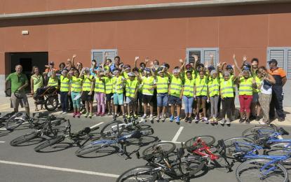 Más de 500 escolares del municipio participan en las actividades de la Semana de la Movilidad
