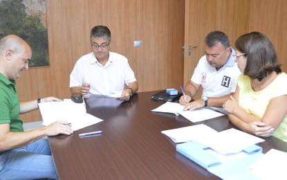 El Ayuntamiento de Ingenio y Equipur mejorarán el parque infantil de la Urbanización de Maestro Valle