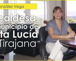 Entrevista con Dña. Dunia González Vega, Alcaldesa de Santa Lucía de Tirajana.