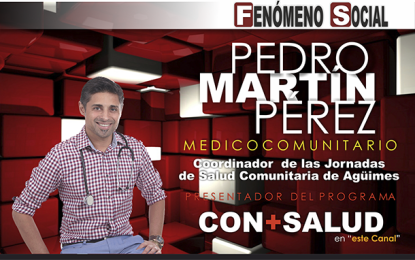 El Dr. D. Pedro Martín Pérez nos relata todos los proyectos en los que se halla inmerso