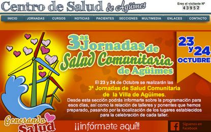 PRESENTACIÓN TERCERAS JORNADAS DE SALUD COMUNITARIA DE AGÜIMES