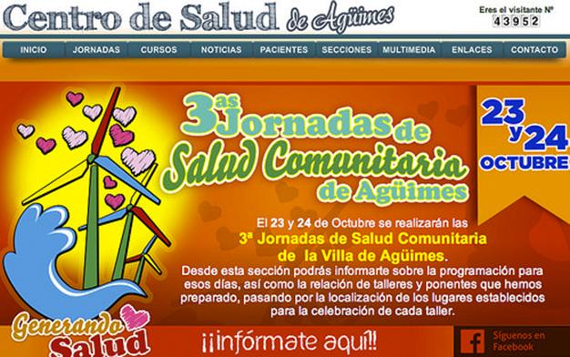 CARTEL PROGRAMA TERCERAS JORNADAS COMUNITARIA - 2015
