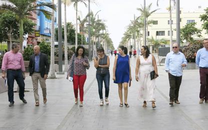 Se solicita apoyo al Cabildo para nuevos proyectos de dinamización del comercio en Santa Lucía