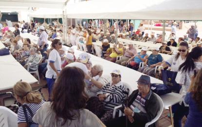 Ingenio acoge la celebración insular del Día de las Personas Mayores