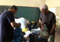 Proyecto Gambia entrega de mil kilos de tapones solidarios
