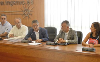 Ingenio presenta 24 proyectos al vicepresidente del Cabildo