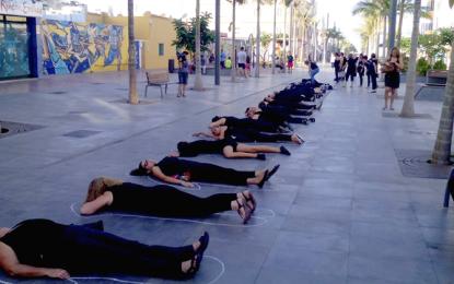 «Women in Black» contra las violencias machistas en el Sureste de Gran Canaria