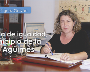 ENTREVISTA CON  MARIRRÓS RODRÍGUEZ GALVÁN,CONCEJALA DE IGUALDAD DEL MUNICIPIO DE AGÜIMES