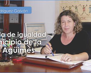 ENTREVISTA CON  MARIRRÓS RODRÍGUEZ GALVÁN,CONCEJALA DE IGUALDAD DEL MUNICIPIO DE AGÜIMES