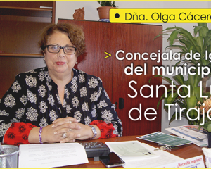 ENTREVISTA CON OLGA CÁCERES PEÑATE, CONCEJALA DE IGUALDAD DE SANTA LUCÍA DE TIRAJANA