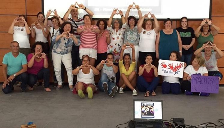 red feminista de Gran Canaria
